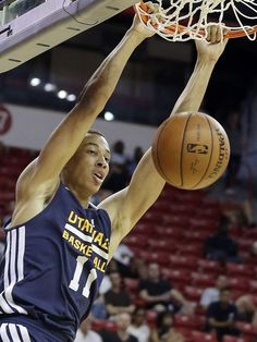 Dante Exum, is supposed to be the next star for the Jazz! He's only 19 and he's playing out of position! No pressure Dante!