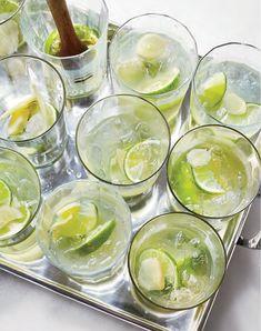 Ginger Caipirinhas Cocktail recipe at This Mama Cooks! On a Diet - thismamacooks.com