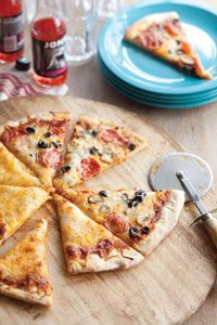 Homestyle Family Pizza From Cooking with Paula Deen, May/June 2012