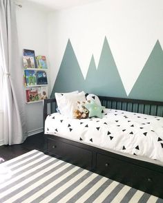 Interior Design by Buk&Nola Kids room - Babyzimmer Junge Boys Bedroom Themes, Boys Bedroom Paint, Boys Bedroom Furniture, Small Room Bedroom, Bedroom Wall, Girls Bedroom, Kids Room Design, Bedroom Flooring, Luxurious Bedrooms