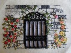 Overgrown Garden Gate by hanging-by-a-thread, via Flickr