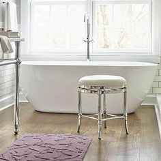 Nice Bathroom Vanity Stool Design Ideas