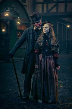 Dickensian brings Charles Dickens' best-loved characters together to create an epic period soap opera - Mirror Online V Drama, Sanditon 2019, Steampunk, Dark Men, 20th Century Fashion, Period Outfit, Costume Collection, Romance Movies, Movie Costumes