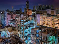 More rooftop action in the middle of Sham Shui Po Hong Kong