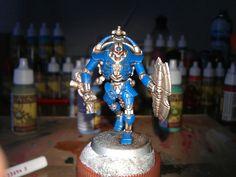 Necron warrior.