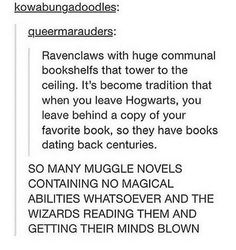 Reasons why I'm a Ravenclaw. I would never leave the common room! >>> best thing ever