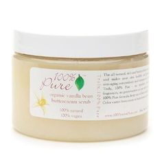 100% Pure Body Scrub  Vanilla Bean  by 100 Percent Pure