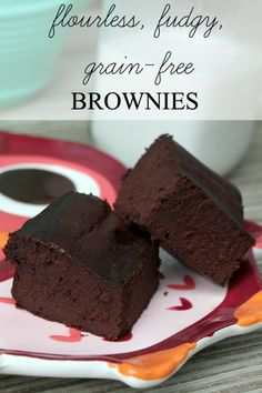 Super easy grain-free brownie recipe!