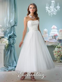 Enchanting - 116141 - All Dressed Up, Bridal Gown
