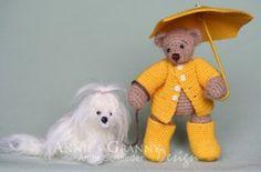 Crochet bears by Annie's Granny Design