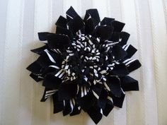 Exquisite Large Dahlia Felt Brooch/Pin by Leophonse on Etsy