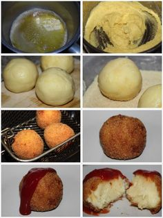 Bolas de puré de patata