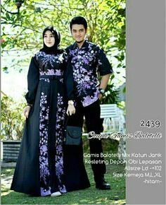 Hijab Dress, Hijab Outfit, Muslim Fashion, Hijab Fashion, Batik Muslim, Batik Couple, Kebaya Brokat, Batik Fashion, Batik Dress