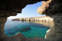 Beautiful sea caves in Cyprus #JetsetterCurator