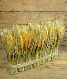 Bundle of wheat for #fall centerpieces -so cute for thanksgiving!-
