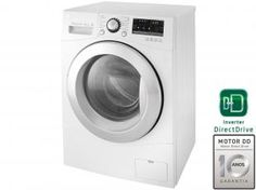 Lava e Seca LG WD1485AT 8,5Kg Àgua Quente/Fria - c/ Inverter Direct Drive 6 Motion e Painel Touch