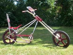 recumbent chopper bicycle - Google Search Custom Cycles, Custom Bikes, Cruiser Bicycle, Chopper Bike, Pedal Cars, Vintage Bikes, Tricycle, Cool Bikes, Biking