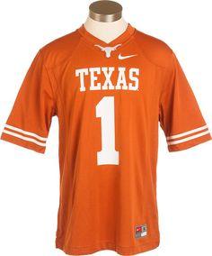 Nike Texas Longhorn # 1 Game Master Jersey