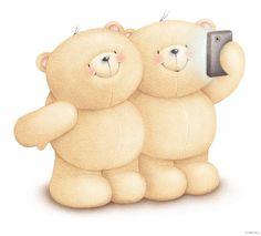Forever friends my spl. Teddy Bear Cartoon, Cute Teddy Bears, Cute Cartoon, Friend Cartoon, Teddy Bear Pictures, Friends Image, Tatty Teddy, Love Bear, Friends Forever