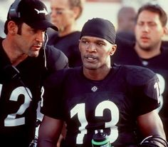 Jamie Foxx as Steamin' Willie Beamen in 'Any Given Sunday'.