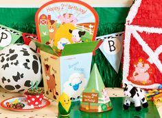 Perfect for Tristan he just loves all things farm!
