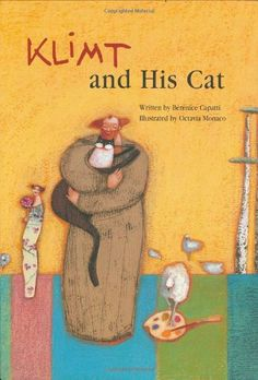 Klimt and His Cat: great book about a fantastic artist, with wonderful art activities to accompany your Klimt exploration, from Kids Get Arty