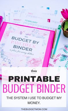 Today, I am showing you our 2017 Budget-by-Paycheck Binder. Learn how I manage our money on a monthly basis, track our spending, pay off debt, and how we save for important goals. Get the budget printables that I use, and start creating a plan for your money today.