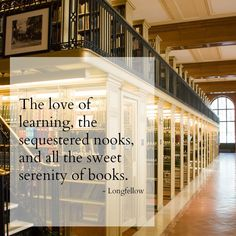 Sequestered Nooks / Serenity of Books