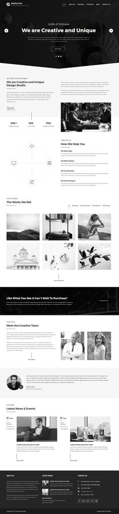 Perfection Multipurpose WordPress Theme Created for All Kind of Websites