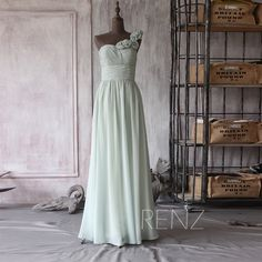Bridesmaid dress Wedding dress Party dress Formal by RenzRags