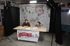 Grant D. Morse School in NY uses eSigns.com! They use them on the set of their student-producted show, Just Print It Television (JPI TV)!