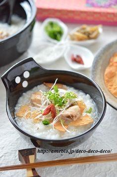 簡単&時短!「焼き鳥缶(塩味)と冷ご飯で*とろとろ中華粥」~消化が ...
