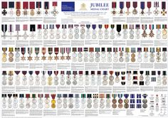 a selection of medals - these are separate from rank - though show exceptional valour or other qualities of a soldier and if you have any are socially higher in the army than those without - even when you have medals some medals are harder to obtain than others and so these soldiers are again looked upon higher than 'lower medals'