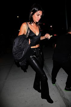 Kendall Jenner out for dinner at Mr. Chow