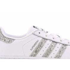 adidas Superstar Glitter - Femme Chaussures