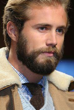 elements of fu manchu  Fall 2012 Menswear Beauty Trend: Beards