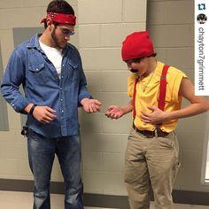 @chayton7grimmett #CullmanHighSchool  The real cheech and Chong #CHS #homecoming