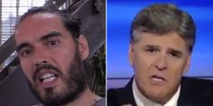 Russell Brand Tells Sean Hannity To Abandon 'Vengeance And Hatred'