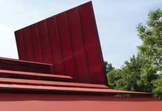 Jean Nouvel's 2010 Serpentine Gallery pavilion featured a 12m high, free-standing gravity-defying wall.