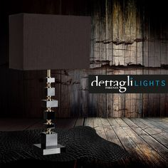 Brick table lamp