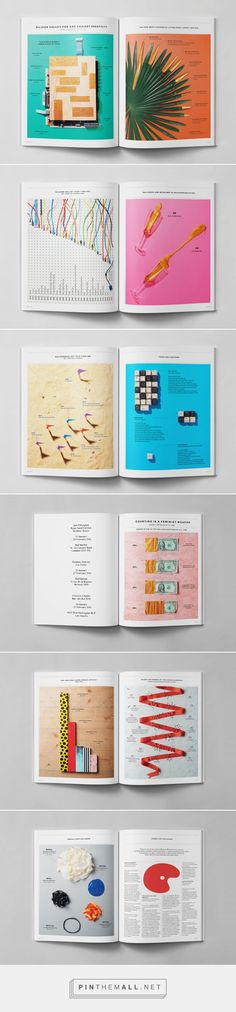 Elephant Magazine #25 #26 — Infographics on Behance - created via https://pinthemall.net