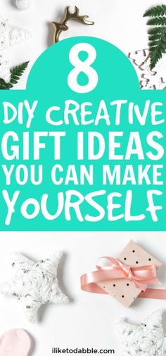 DIY creative gift ideas anyone can make. You can make things like gift baskets and spa jars for your friends and family. Think of things they will actually use! Cheap Gifts, Diy Gifts, Best Gifts, Thing 1, Diy Presents, Christmas Makes, Creative Gifts, Creative Ideas, Christmas Crafts