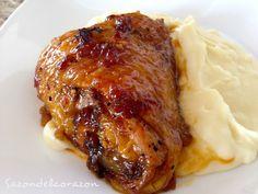 Pollo a la miel con chipotle