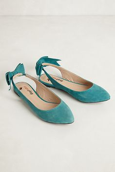 bow slingbacks / anthropologie