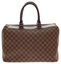 Louis Vuitton Greenwich Damier Pm Brown Satchel. Save 54% on the Louis Vuitton Greenwich Damier Pm Brown Satchel! This satchel is a top 10 member favorite on Tradesy. See how much you can save