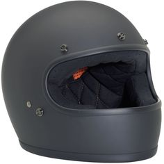 Biltwell Gringo Helmet - Flat Black - Now Available at SF Moto | Motorcycle Gear, Vespa Scooter Apparel | Bay Area | San Francisco, California