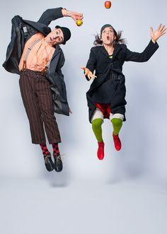 Camilla Pessi und Simone Fassari verstehen es als «Baccalà Clown», das Publikum…