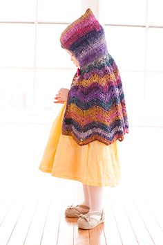 easy little pattern, I've made this for Anna, just can't get her to model it for me!