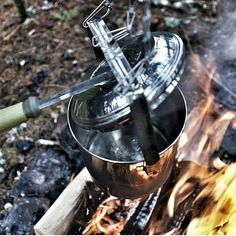 Boiling water and making coffee. Double tap the image to show the love.  #bushcrafting #wildernessnation #explore #exploring #adventures  Visit Survival Life TODAY for more bushcrafting facts and survival news. Click the #linkinbio  Repost from @survivalist_outdoors  Photo by @bushcraftandcoffee