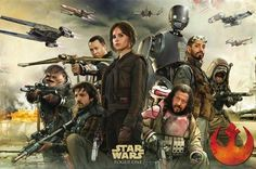 "Rogue One A Star Wars Story promotional art ""Heroes "" #starwars #rogueone…"